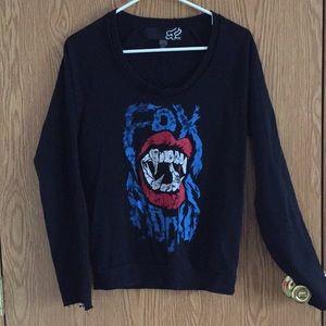 Fox pullover sweatshirt